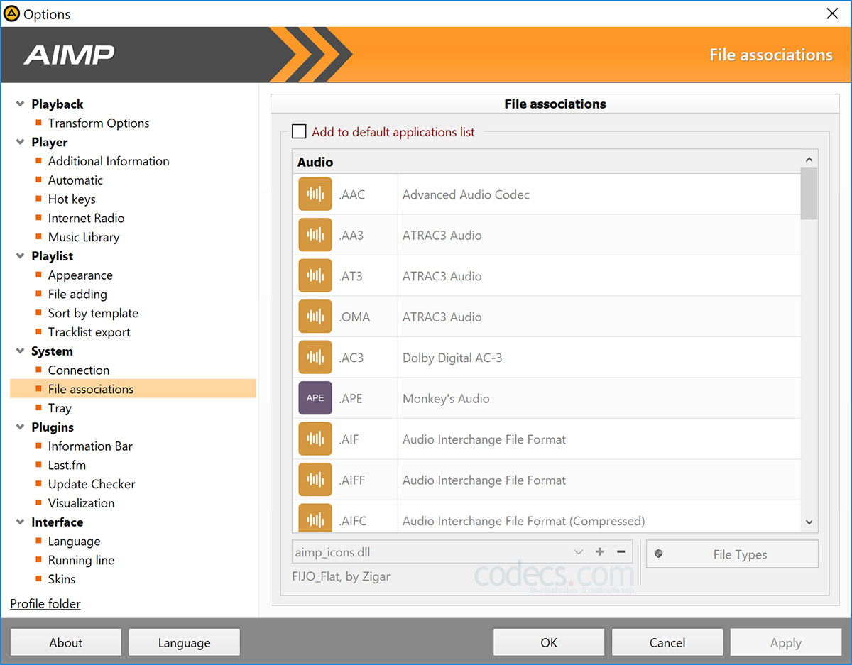 AIMP 4.70.2217 rc2 screenshot