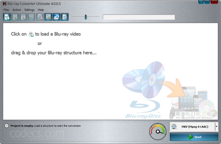 Blu-ray Converter Ultimate 4.0.0.100 screenshot
