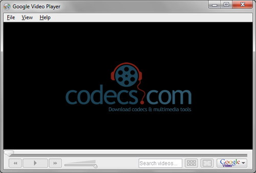 Google Video Player 1.0.3.3 screenshot