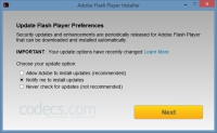 Adobe Flash Player 32.0.380 beta screenshot