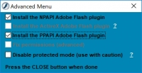 Adobe Flash Updater 4.2.1 screenshot