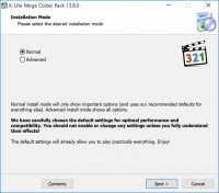 K-Lite Mega Codec Pack 15.6.5 screenshot